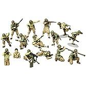 タミヤ 1/48 ミリタリーミニチュアシリーズ No.13 アメリカ陸軍歩兵 GIセット プラモデル 32513