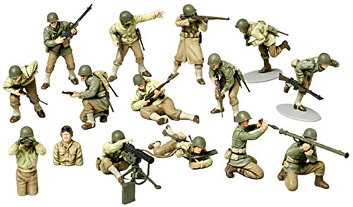 1/48 MMシリーズ WWIIアメリカ歩兵GIセット