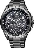 [シチズン]CITIZEN 腕時計 ATTESA アテッサ エコ・ドライブGPS衛星電波時計 F900 ブラックチタンシリーズ CC9075-52F メンズ