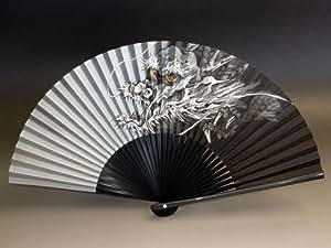 京扇子 男性用 「銀龍」 日本製