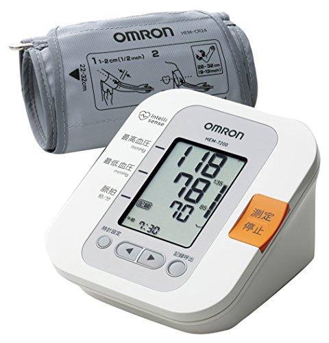 オムロン 電子血圧計 上腕式 腕帯巻きつけタイプ HEM-7...