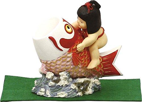 【ミニ五月人形】5020 鯉のり金太郎...
