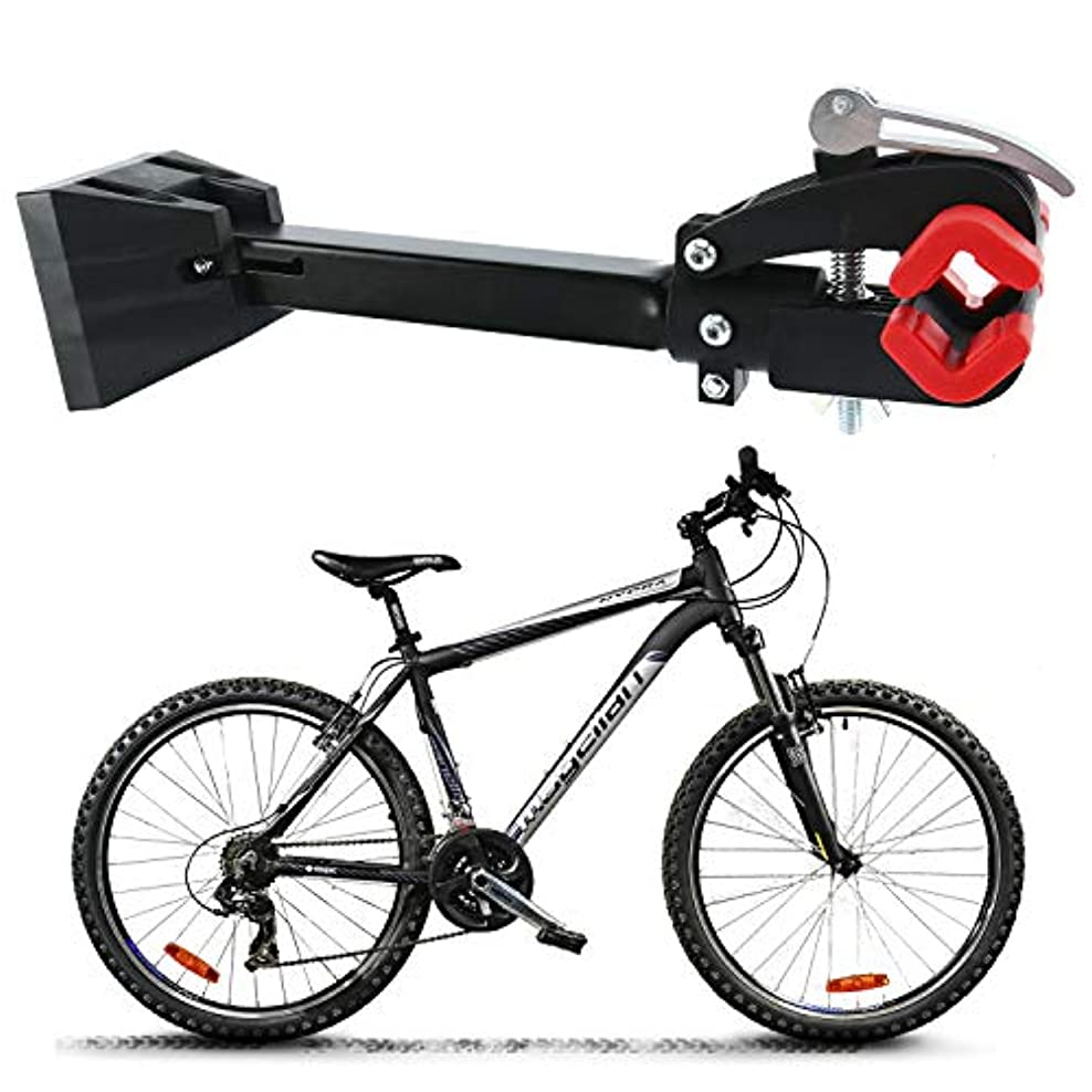 精巧な無関心周辺Homend 折りたたみ式 高耐久 壁取り付け 自転車修理スタンド 自転車メンテナンスラック 作業台