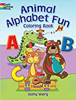 Animal Alphabet Fun Coloring Book (Dover Coloring Books)