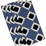 E byデザインn4gn362bl15bl14 – 19 Medina幾何印刷ナプキン、19