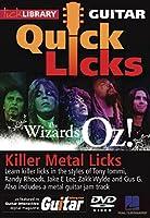 Killer Metal Licks: The Wizard of Oz: Quick Licks [DVD] [Import]