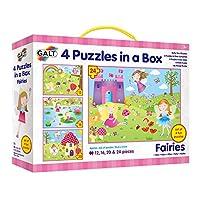 Galt Toys Fairies 4 Puzzles In A Box (multi-colour)