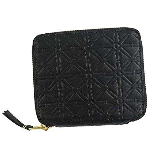 eb20e6ed3dd0 ... (コムデギャルソン)COMME des GARCONS 財布二つ折り財布SA210EA EMBOSS ブラック[並行輸入