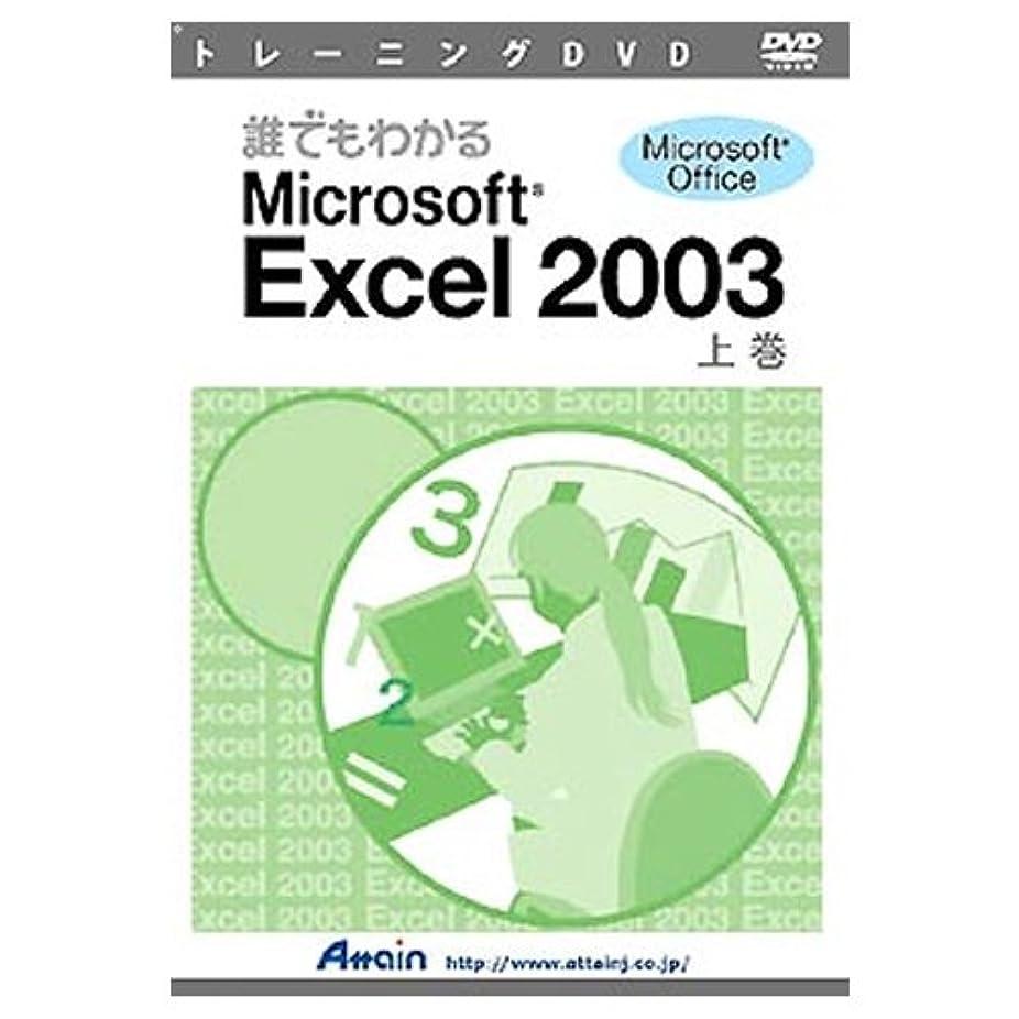 彫るドル素晴らしさアテイン DVD 誰でもわかるExcel2003 上巻