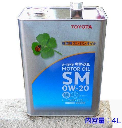 キヤッスル SN 0W-20 4L