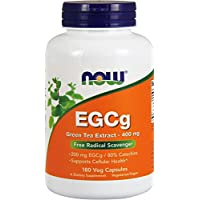 Now Foods EGCg Green Tea Extract, 180 Vcaps 400Mg