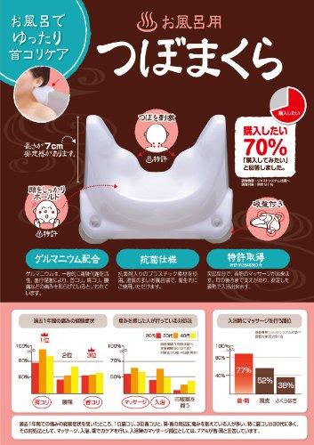 サンパック お風呂用つぼまくら 普通サイズ