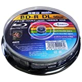 HI-DISC BD-R HDBD-RDL6X10SP (DL/1-6倍速/10枚)