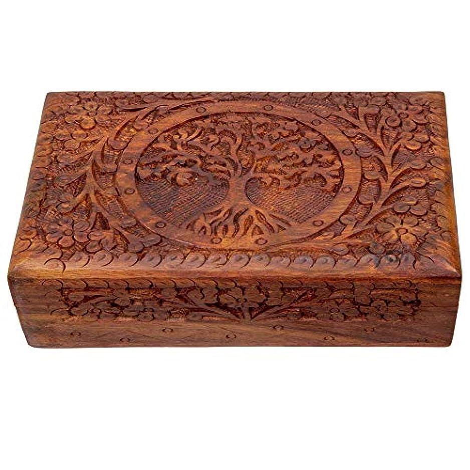 伝統群衆野心的インドの職人 AOI-Jewellerybox-5-New
