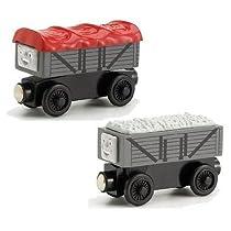 ラーニングカーブ きかんしゃトーマス 木製レールシリーズ 笑ういたずら貨車・いじわる貨車 LC99131 並行輸入品