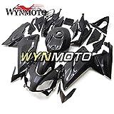 WYNMOTO 炭素繊維効果新しい ABS 樹脂射出オートバイフェアリングキットアプリリア RS125 2006 2007 2008 2009 2010 2011 オリジナルパネル