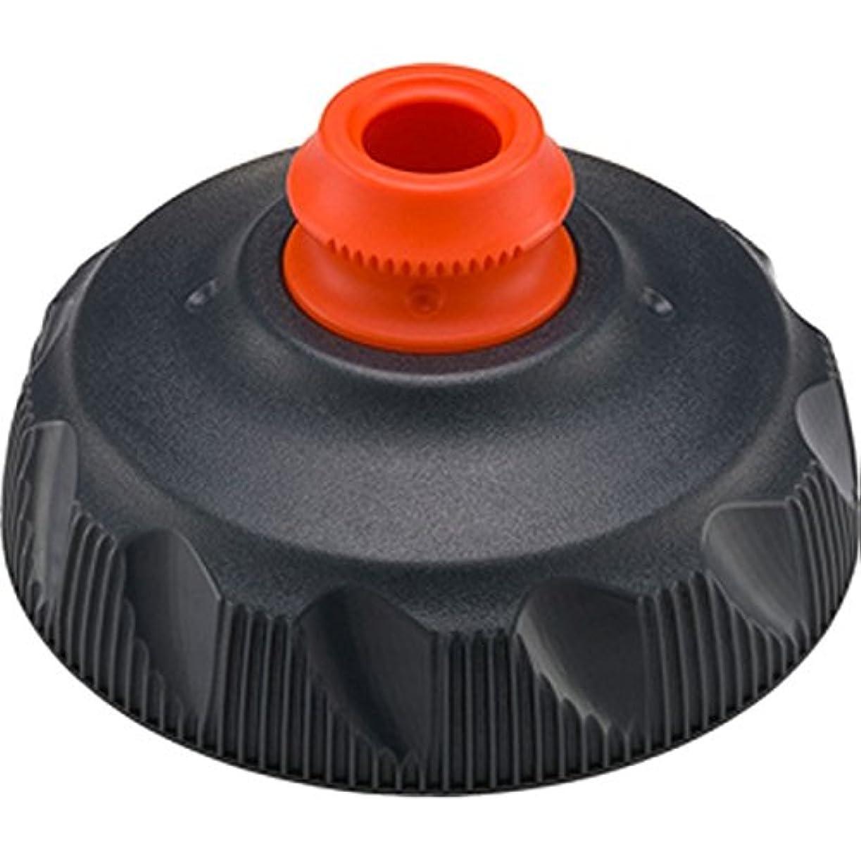 スキャン才能のある煙突(POLAR BOTTLE/ポーラーボトル)ジップストリーム 交換用キャップ チャコール