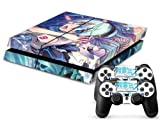MightyStickers? PS4 Designer Skin Game Console System plus Two(2) Controller Decal Vinyl Protective Covers Stickers for Sony PlayStation 4 - Hatsune Miku Vocaloid Anime Project Diva Girl by MightySticker? [並行輸入品]