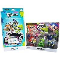 Splatoon Bundle Amiibo 3 Pack & Hori Splatoon Protector for Nintendo Wii U by Splatoon [並行輸入品]