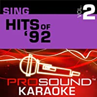 Sing Hits Of '92 Vol. 2 [KARAOKE]