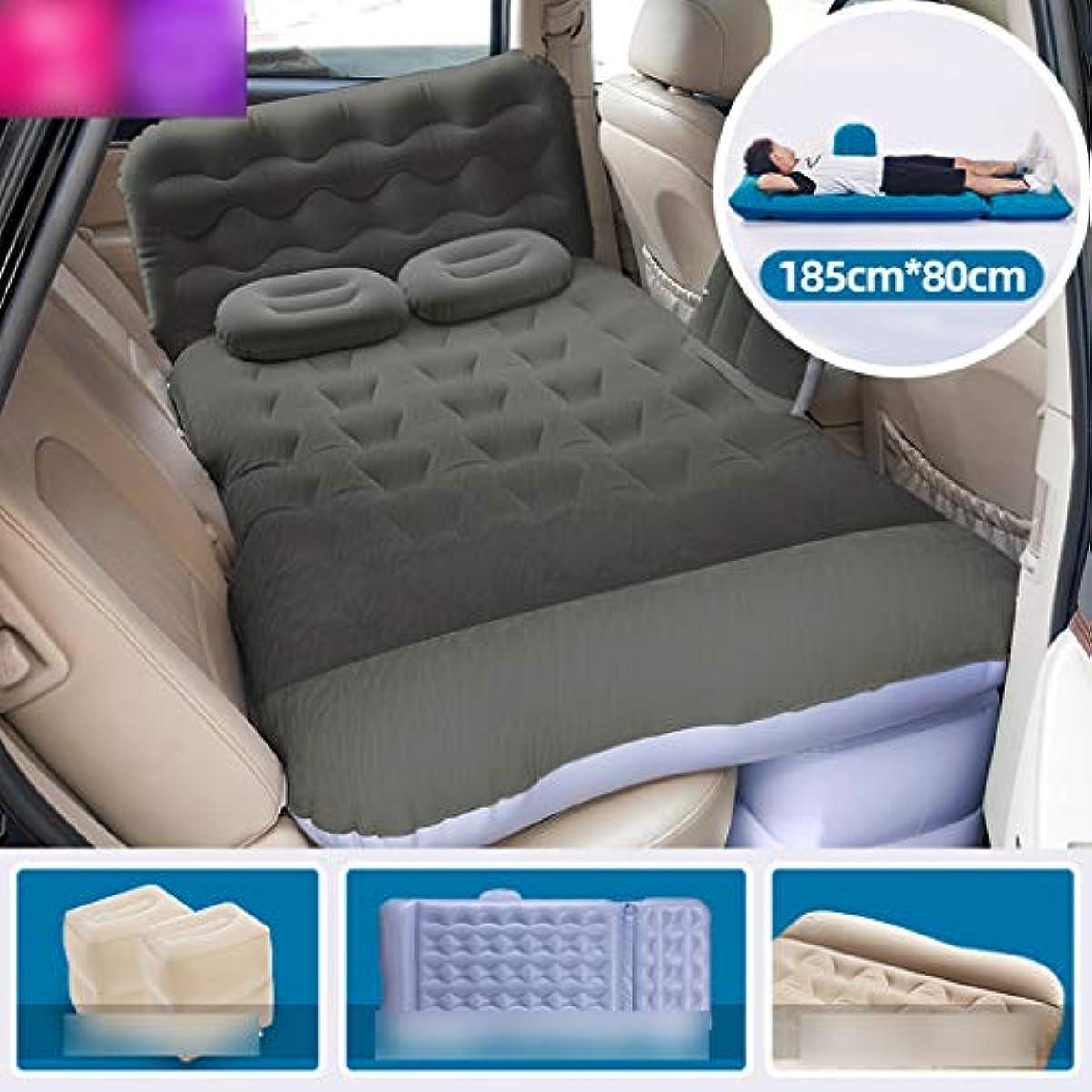 悪因子ゴミ箱を空にする反映するSYLOZ 車のインフレータブルベッド車のリア排気パッドベッドリアシート車の大人の睡眠パッド旅行マットレス (Color : A)