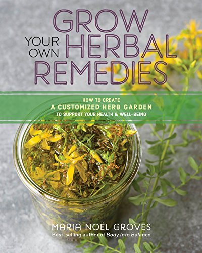 Grow Your Own Herbal Remedies: How to Create a Customized Herb Garden to Support Your Health and Well-Being (English Edition)
