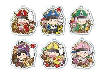 ぷりっしゅ おそ松さん 海賊松Ver. トレーディングアクリルキーホルダー BOX商品 1BOX = 6個入り、全6種類