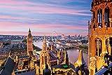 1000ピース ジグソーパズル めざせパズルの達人 ロンドンの街並み-イギリス(50x75cm)