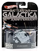 "Hot Wheels""Battlestar Galactica"" Cylon Rider 35th Anniversary 1:64 Scale [並行輸入品]"