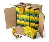 Crayola: クレヨン アート用具 クレヨン4本入りで360箱入り 赤 緑 黄 青 ハロウィーンのお菓子の代わりに最適