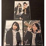 HKT48 松田祐実 Fortune cherry 封入特典 生写真 3種コンプ AKB48 多田京加