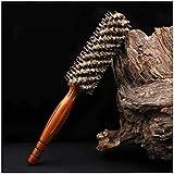 ZYDP 巻き毛の櫛の理髪のカーリングブラシの帯電防止 (サイズ : S)