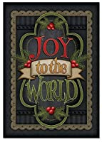 NobleWorks ''Chalk Up Another Holiday'' Funny Merry Christmas Greeting Card 5'' x 7'' (C3297IXSG) [並行輸入品]
