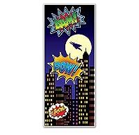 """Super Hero Door Cover - 30"""" X 6' [並行輸入品]"""