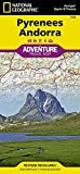 National Geographic Pyrenees Andorra : Europe/Spain &France: Adventure Travel Map (National Geographic Adventure Map)