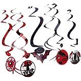 KESOTO 9個 渦巻き装飾 ハロウィン 装飾 フォトブース