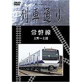 Hi-Vision 列車通り 常磐線 上野~土浦 [DVD]