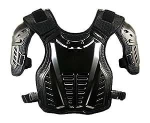 コミネ(Komine) 胸部プロテクター チェストガード ブラック フリー 04-600 SK-600
