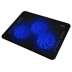 """HAVITノートパソコンPC用 冷却ファン ノートブッククーラー 3ファン15.6""""-17""""に対応 ブラック HV-F2056"""