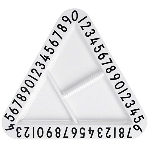 【DESIGN LETTERS/デザインレターズ】Arne Jacobsen キッズプレート(トライアングル)