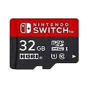【Nintendo Switch対応】マイクロSDカード32GB for Nintendo Swit...