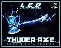 限定版 1/6 サンダーアックス アックス LED 雷の効果 モデル フィギュア用 人形 ドール ホビー レディー 12インチ コスプレ アクセサリー リアル 置物 道具 情景 Thuder Axe BT 001