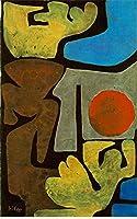 手描き-キャンバスの油絵 - Park of Idols 1939 表現主義 Bauhaus Surrealism Paul Klee 芸術 作品 洋画 ウォールアートデコレーション -サイズ10