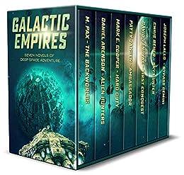 Galactic Empires: Seven Novels of Deep Space Adventure by [Jansen, Patty, Pax, M., Cooper, Mark E., Arenson, Daniel, Reher, Chris, VanDyke, David, Lallo, Joseph]