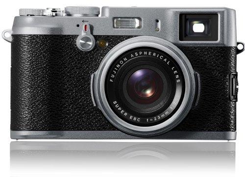 FUJIFILM デジタルカメラ FinePix X100  F FX-X100 1230万画素 APS-CサイズCMOS フジノン23mm F2レンズ ハイブリッドビューファインダー 2.8型液晶
