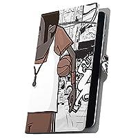 タブレット 手帳型 タブレットケース タブレットカバー カバー レザー ケース 手帳タイプ フリップ ダイアリー 二つ折り 革 人物 キャラクター イラスト 003639 MediaPad T3 7 Huawei ファーウェイ MediaPad T3 7 メディアパッド T3 7 t37mediaPd t37mediaPd-003639-tb