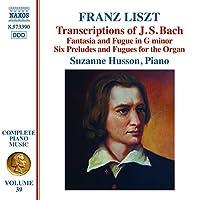 Liszt: Bach Transcriptions