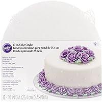 WILTON(ウィルトン)10インチ ケーキサークル 12PCS 【WILTON ウィルトン】