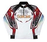 サンライン(SUNLINE) シャツ ステータス PRODRY ジップアップ 4L ホワイト STW-5519CW