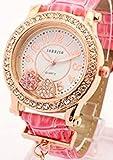 贅沢なワガママ叶えます!おしゃれなレディースウォッチ [ SORISSO ] 誕生日プレゼント 腕時計 (ピンク)